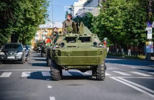 Через Смоленск прошёл бронепробег «Дорога Мужества»