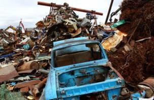 Белорус незаконно продавал металлолом в Смоленск