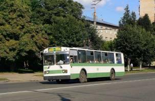 Смоленск на сутки останется без троллейбусов