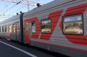 В Новодугино теперь останавливается поезд «Санкт-Петербург – Смоленск»