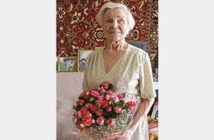 Участница Великой Отечественной войны из Смоленска отметила 95-летний юбилей