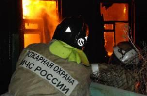 Погибли двое. Подробности ночного пожара в Смоленске