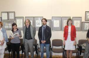 В Смоленск привезли иллюстрации Александра Траугота