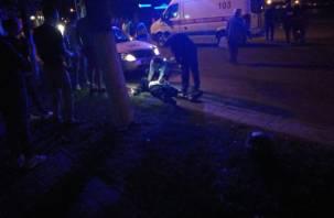 Смертельное ДТП в Орше: смоленская студентка чудом выжила, байкер погиб