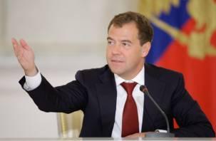 Дмитрий Медведев рассказал о красоте смоленского памятника истории и архитектуры