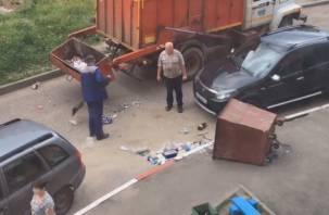 Как происходит вывоз мусора в Смоленске?