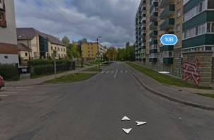 В Смоленске на месяц ограничат движение по улице Ломоносова