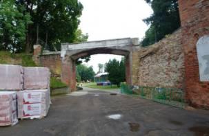 В Смоленске готовят к реставрации стены возле «Мостика вздохов»