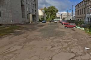 Смоленским водителям будет сложно проехать в районе Колхозной площади