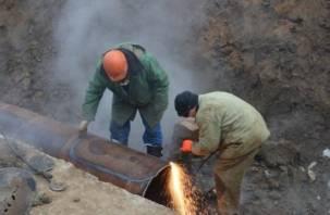 В Смоленске без горячей воды остались более 50 тысяч человек