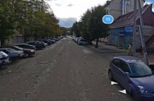 В Смоленске на нескольких улицах начался ремонт дорог
