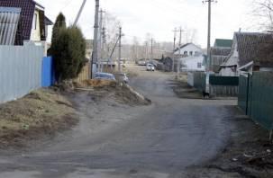 В Смоленской области дети ходят в школу по проезжей части