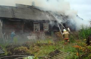 В Рославле в огне погибла 89-летняя женщина