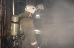 В смоленском фельдшеро-акушерском пункте случился пожар