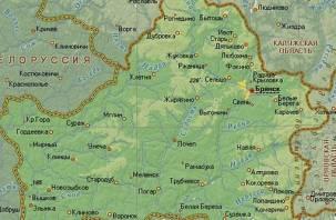 Брянская и Смоленская области согласовали свои границы