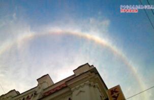 В Смоленской области удалось увидеть необычное природное явление