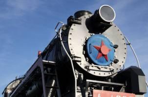 В Смоленске установят паровоз