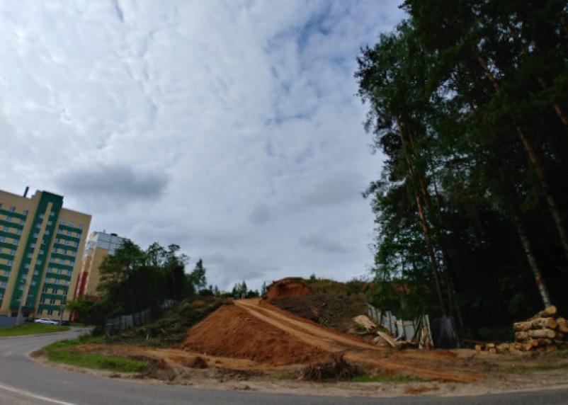 Лес рубят, щепки летят: в Смоленске начали возводить новый спортивный комплекс