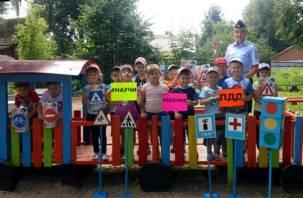Акция «Научи ребенка ПДД» прошла в Смоленской области