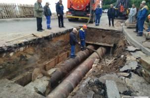 «Почему третий раз рвется участок?». В мэрии Смоленска ищут причины коммунальных аварий