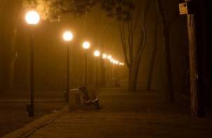 На темных улицах Смоленска снова появился свет