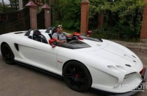 Смолянин собрал уникальный спорткар без лобового стекла