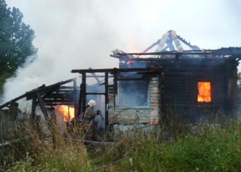 Пожилая смолянка погибла в горящем доме