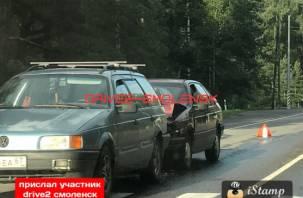 День жестянщика в Смоленске: очередная авария случилась в Красном бору