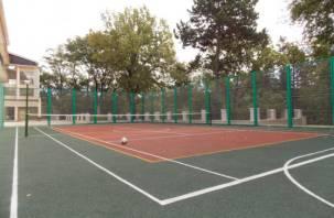 В Смоленске появится новая спортивная площадка