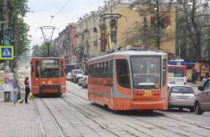 В Смоленске вернулся на маршрут трамвай №1