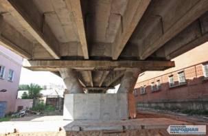 Когда уже? Озвучен срок окончания ремонта Беляевского путепровода
