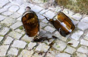 В Смоленске выброшенная с балкона бутылка попала в голову четырехлетнему ребенку