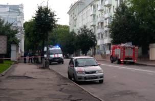 Что случилось возле ЗАГСА? В центре Смоленска скопились экстренные службы