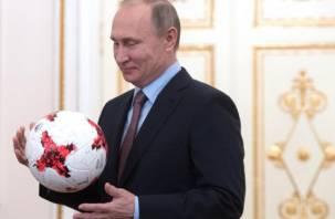 «Они умирали на поле»: Путин оценил игру сборной России