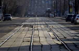 Денег нет: Трамвайный проезд в Смоленске может остаться без ремонта