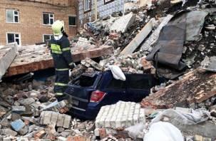 В Смоленской области обрушилось здание