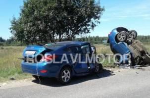 Все погибли: беременная женщина и молодой парень стали жертвами аварии в Рославльском районе