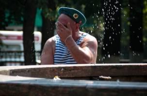 Смоленские десантники не смогут искупаться в фонтанах