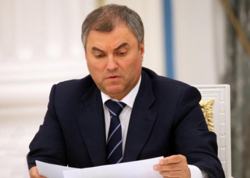 Спикер Госдумы рассказал о бизнесе своей матери в Смоленской области