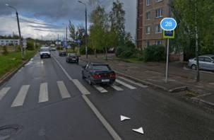 В Смоленске иномарка сбила трехлетнего ребенка