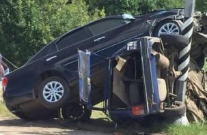 Подробности страшной аварии в Рославльском районе