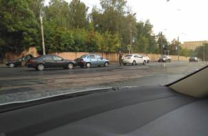 В Заднепровье утром произошло тройное ДТП