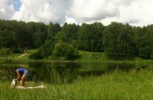 В Смоленске онанист распугал отдыхающих на озере