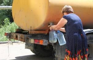 На двух улицах Заднепровья в Смоленске отключат воду