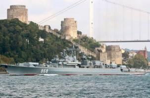 Россия развернула у берегов Сирии мощную группировку кораблей