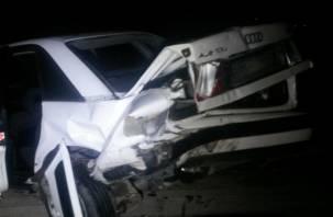В Смоленске лихач на иномарке «отправил» свою пассажирку в больницу