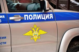 В Вяземском районе грузовой рефрижератор протаранил экскаватор