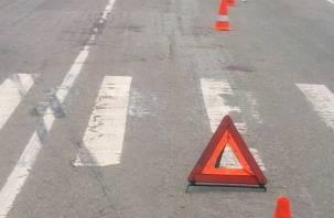 В Смоленске женщина на малолитражке сбила пенсионерку на пешеходном переходе