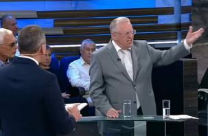 Жириновский похвалил смоленскую картошку в прямом эфире