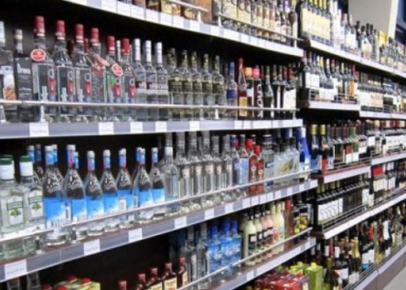 Продажи алкоголя сократились на 25 процентов